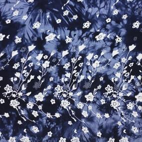 Штапель микро набивной ШМН джинс-022 С1