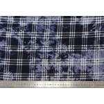 Штапель микро набивной ШМН джинс-016 С1